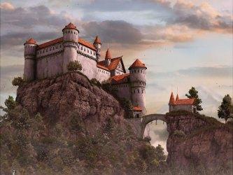 fantasy castle medieval digital roman 3d desktop matte castles painting artwork futuristic imaginary background port realms asoiaf wallpapers computer sci