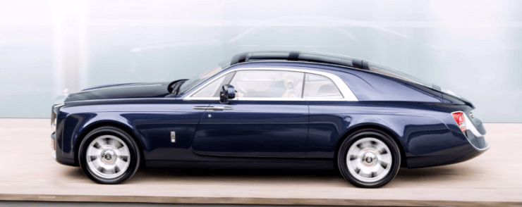 Rolls Royce Sweptail- most expensive car
