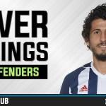 FPL Power Rankings 2017/18: Defenders (GW4)