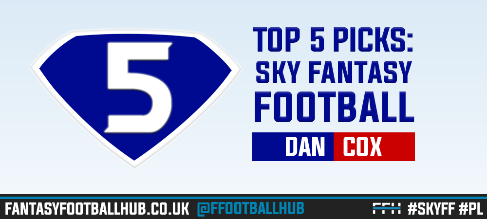 Sky Fantasy Football – 5 tips for Gameweek 20