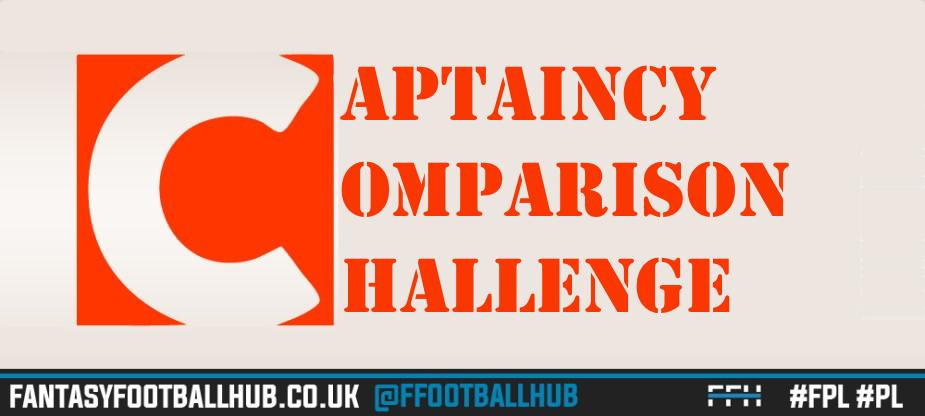 GW30 FPL Captain Comparison Challenge