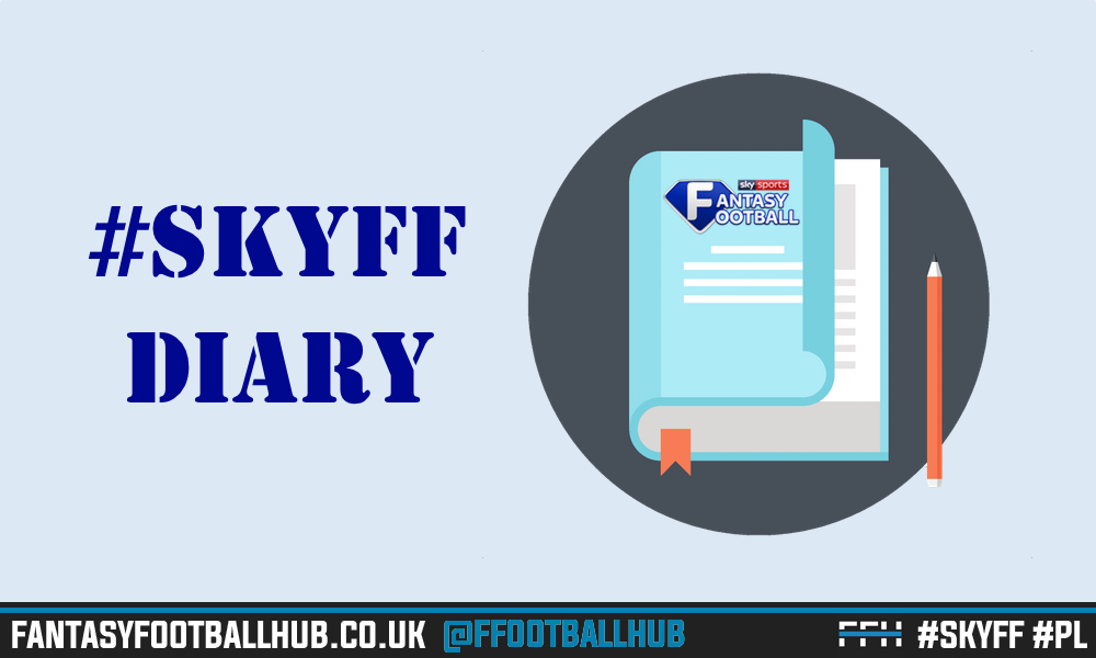 Sky Sports Fantasy Football Diary – GW34