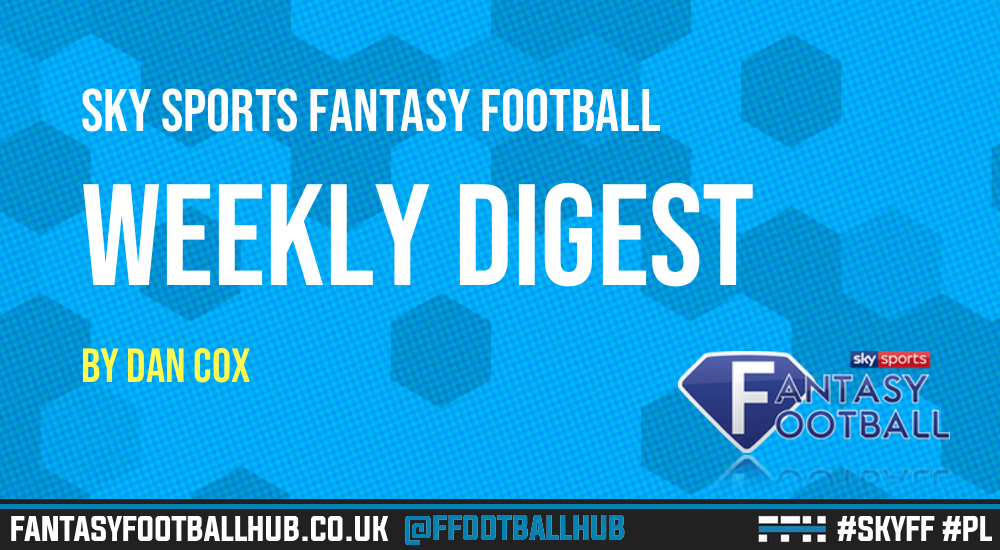 Sky Sports Fantasy Football – The Weekly Digest GW13