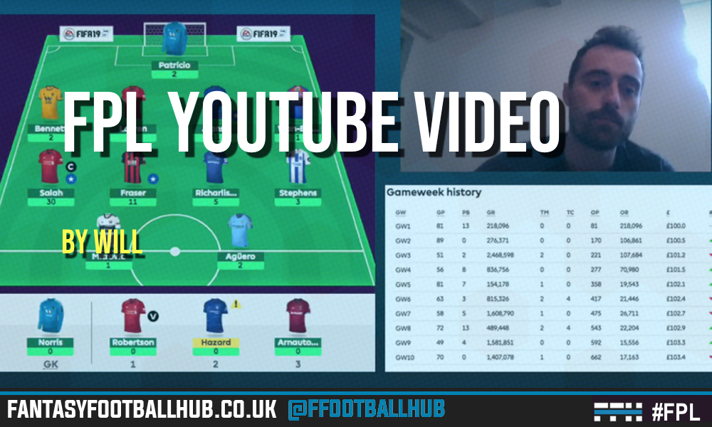 Hub FPL Tips Video for GW13