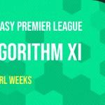 Algorithm's Gameweek 5 FPL Team