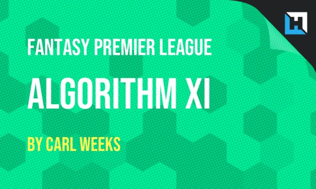 Algorithm's Gameweek 2 FPL Team
