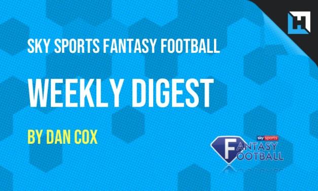 Sky Sports Fantasy Football – The Weekly Digest GW36