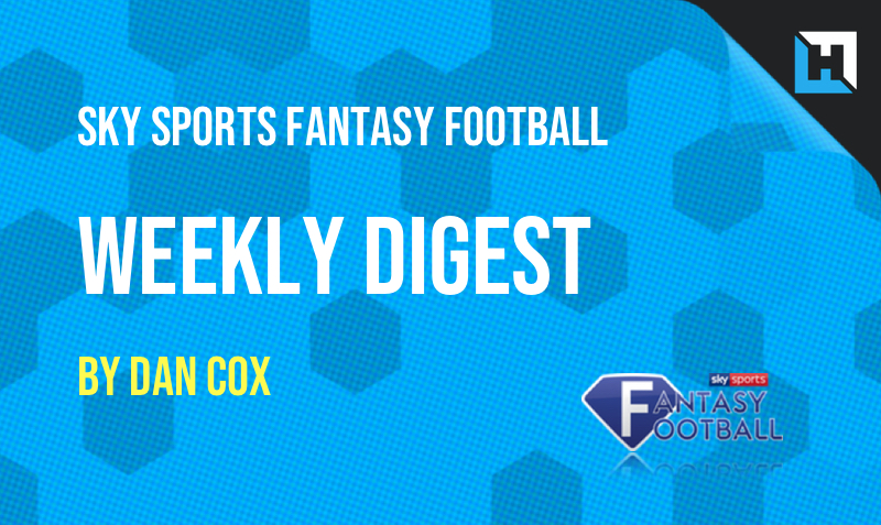 Sky Sports Fantasy Football – The Weekly Digest GW32