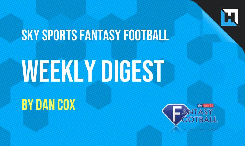 Sky Sports Fantasy Football – The Weekly Digest GW30
