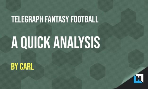 Telegraph Fantasy Football Focus – 2019/2020