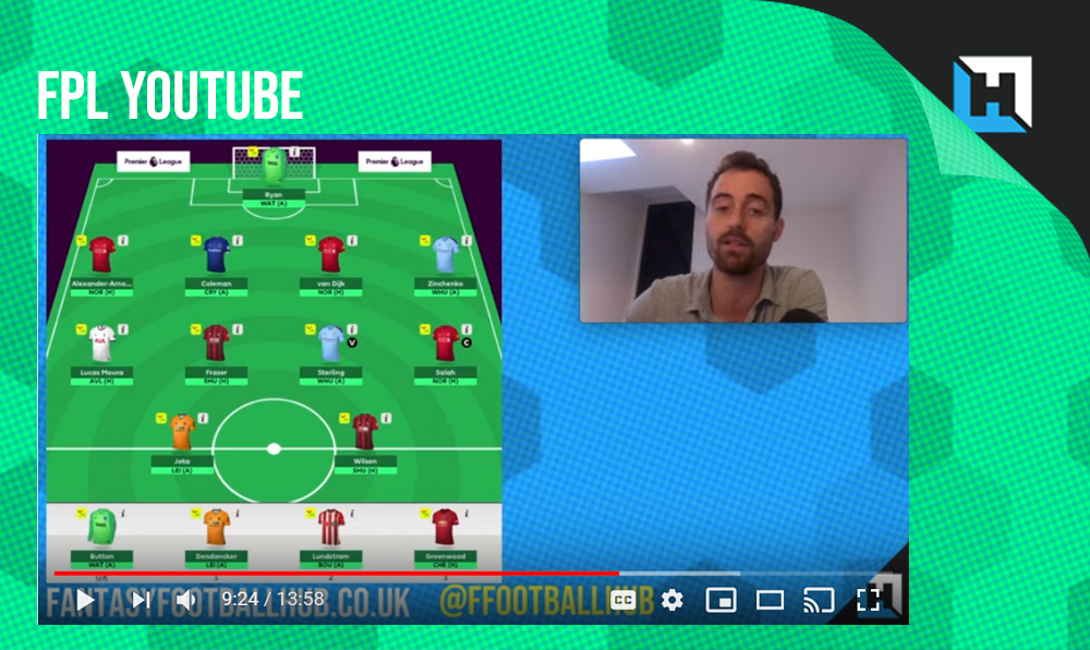 FPL Tips Gameweek 5 – YouTube Video