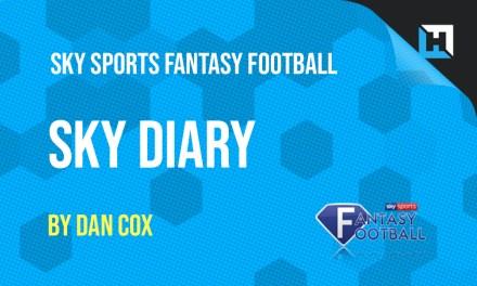 Sky Sports Fantasy Football Diary – GW2