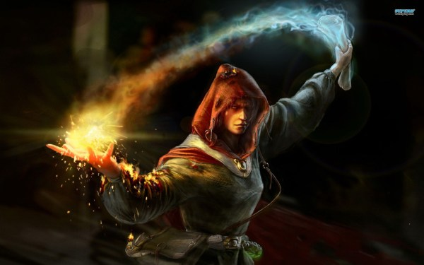 Elements Of Fantasy #1 Wizards Warlocks And Witches In Motion