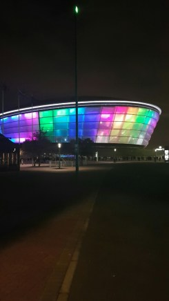 Leaving the SSE Hydro!
