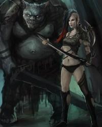 Gothic & Punk Fantasy Art Featuring StandAlone Complex Fantasy Inspiration