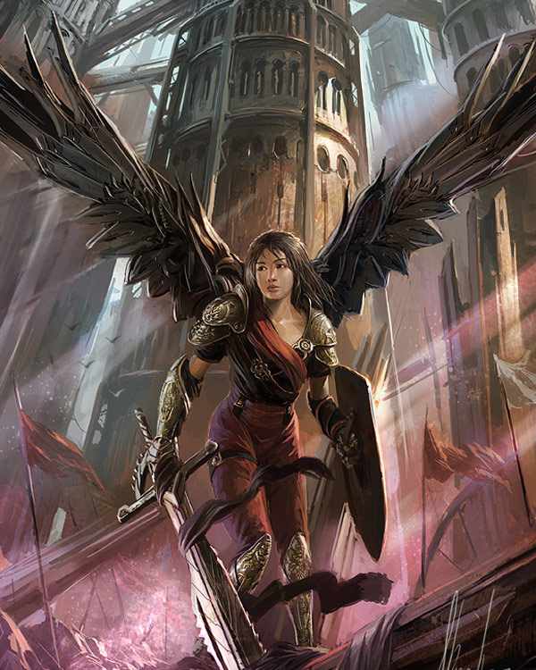 Epic Fantasy Girl Wallpaper When Sci Fi Meets Fantasy Featuring Neisbeis Fantasy