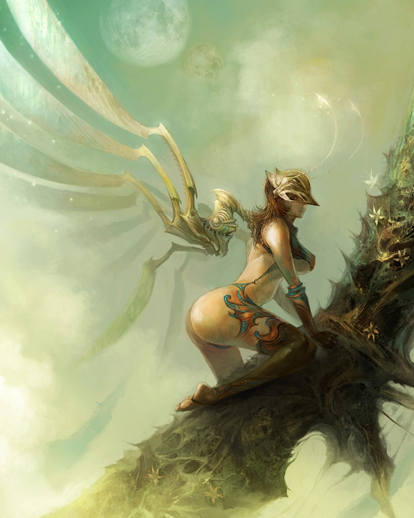 Introducing Fantasy Artist Kyoung Hwan Kim  Fantasy Inspiration