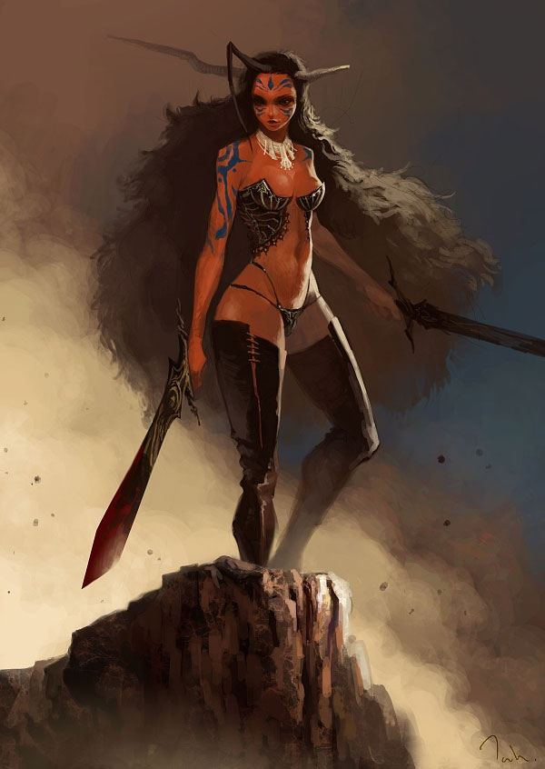 Anime Girl Wallpaper Elf Tahra Revisited Fantasy Character Case Studies Fantasy
