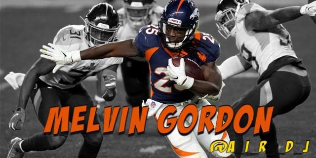 melvin gordon, denver broncos, running back, fantast football