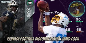 Discount player Jared Cook