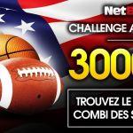 Le nouveau challenge Américain de NetBet