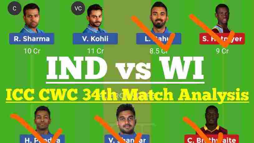 IND vs WI Dream11 Prediction