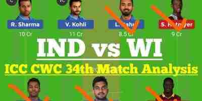 IND vs WI Dream11 Prediction