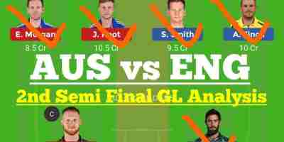 AUS vs ENG 2nd Semi Final Dream11 Prediction