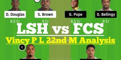 LSH vs FCS 22nd Match Dream11 Team Analysis