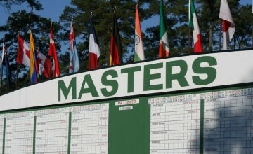 DFS Golf 2019 The Masters Tiers