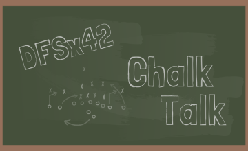 2019 NFL DFS Chalk Talk