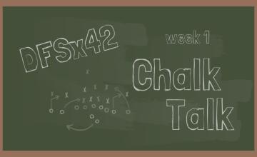 2019 NFL DFS Chalk Talk Week 1