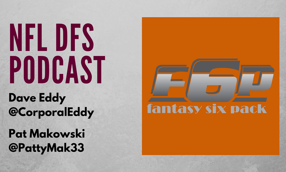 F6P NFL DFS Week 12 Podcast