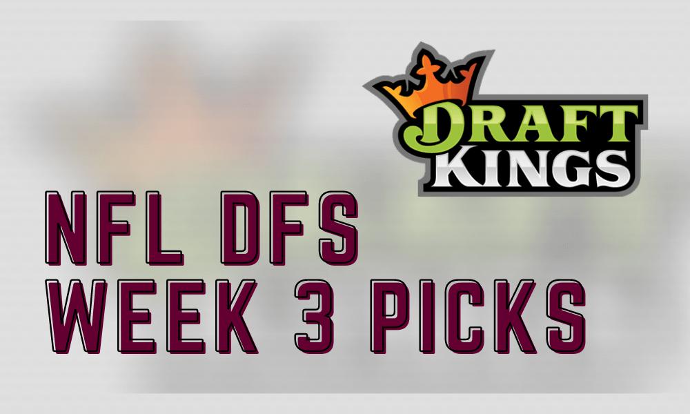 2020 NFL DFS Week 2 DraftKings Picks