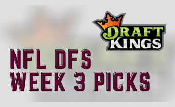2020 NFL DFS Week 2 DraftKings Picks