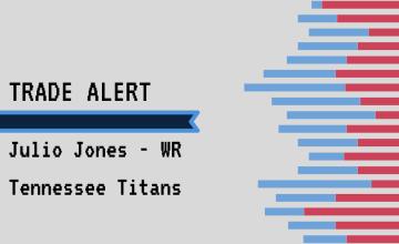 Julio Jones Titans Fantasy Football