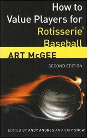 Art McGee fantasy baseball books