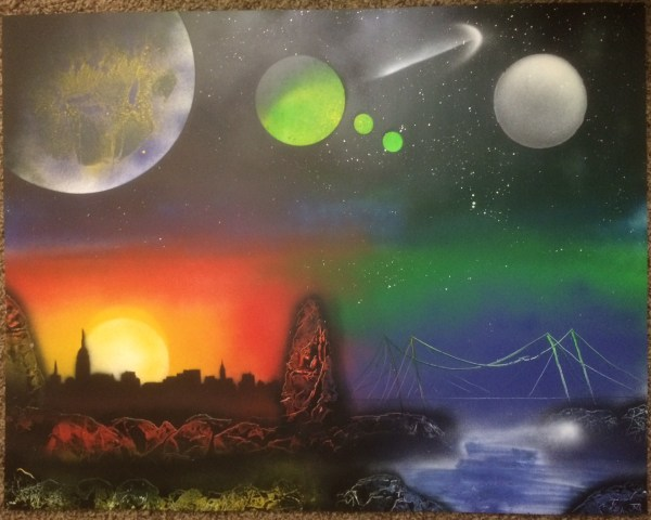 Spray Paint Art - Fantasy
