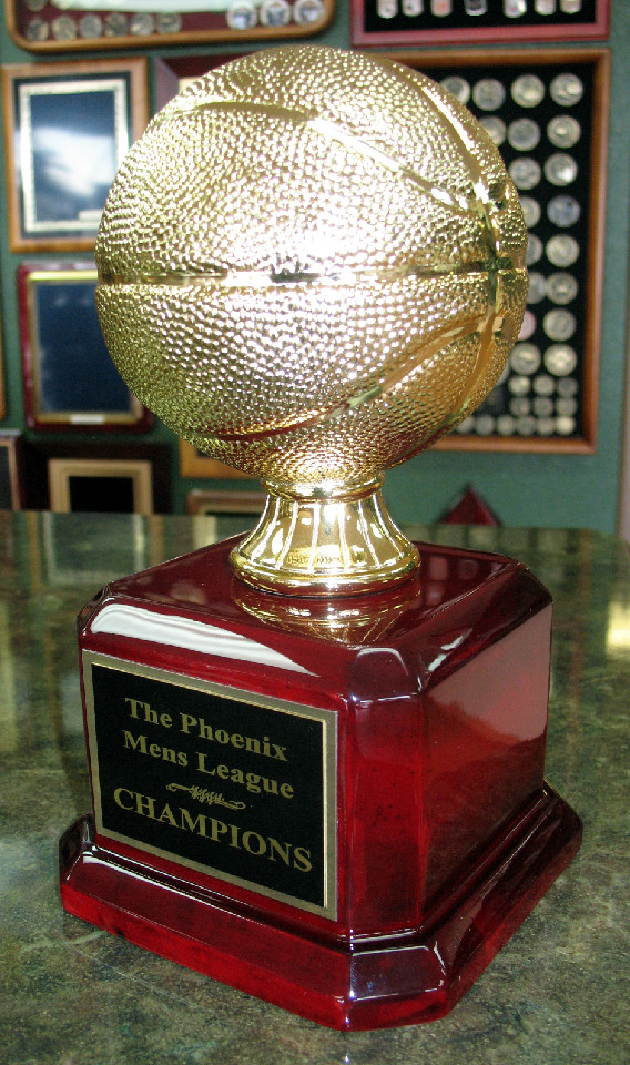 875 Tall Resin Basketball Trophy  Fantasy Trophy Store
