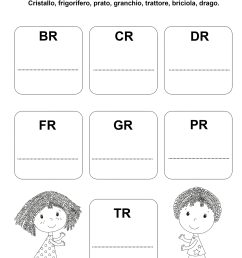 Cr Fr Gr Worksheets   Printable Worksheets and Activities for Teachers [ 2560 x 1854 Pixel ]