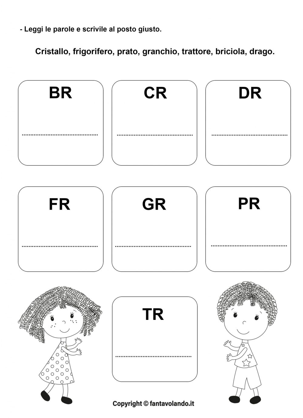 medium resolution of Cr Fr Gr Worksheets   Printable Worksheets and Activities for Teachers