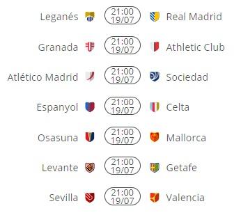Fantasy Preview La Liga GW38 Fixtures
