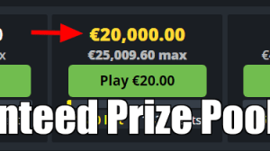 guaranteed prize pool