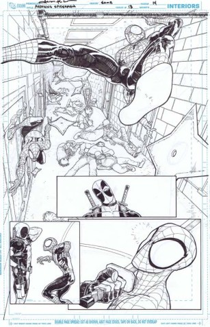 Page from Avenging Spider-Man 13