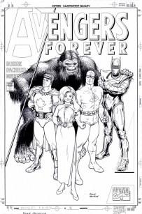 Avengers Forever 4 variant cover