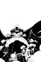 Batman Inc Variant Cover