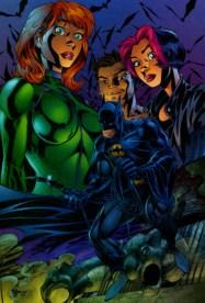 Batman and Gen 13 by J. Scott Campbell