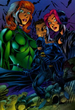 Batman and Gen 13 by J. Scott Campbell
