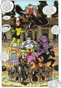 X-Men in Spain