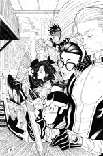 Young Avengers variant cover